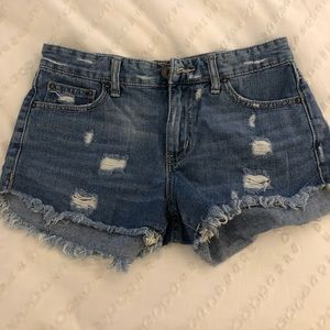 Free People Jeans Shorts
